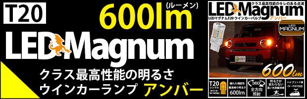 T20s LEDMAGNUM 600lm 1セット2個リンク