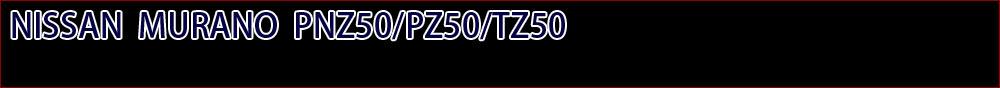 ムラーノPNZ50/PZ50/TZ50
